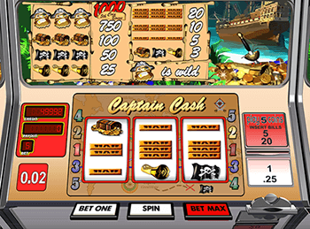 Captain Cash by Betsoft 6