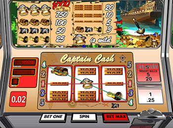 Captain Cash by Betsoft 2