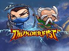 Классический автомат Thunderfist на деньги от NetEnt